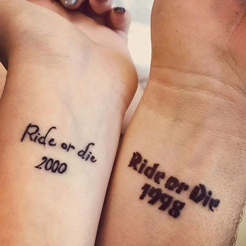 101 Cute Matching Sister Tattoos: Meaningful Ideas + Designs (2020 Guide)