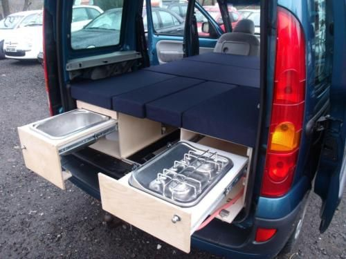 2006 renault kangoo 1 6 expression 5dr auto campervan 5 door motorhome pinterest camion. Black Bedroom Furniture Sets. Home Design Ideas
