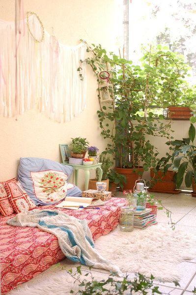 DIYnstag 16 Kreativ-Ideen für Balkon und Terrasse Diy garten - terrasse gestalten ideen stile