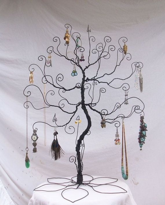Large Size a Tree of Life as a jewelry holder - Idea 1 - Standing Holder