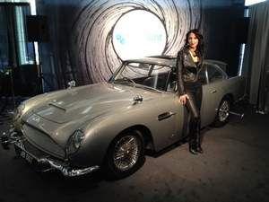 Tech Company Covisint Rented 1964 Aston Martin Db5 James Bond