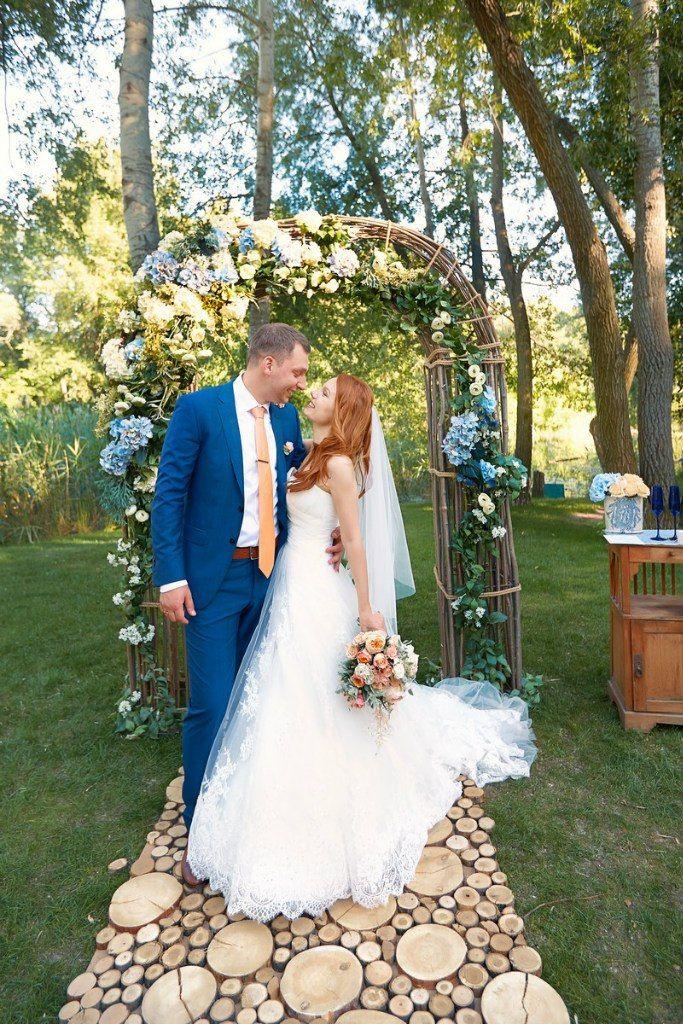 wedding ceremony, wedding decor, wedding ceremony decor, wedding arch, rustic wedding, природа, лето, свадьба, оформление свадьбы, молодожены