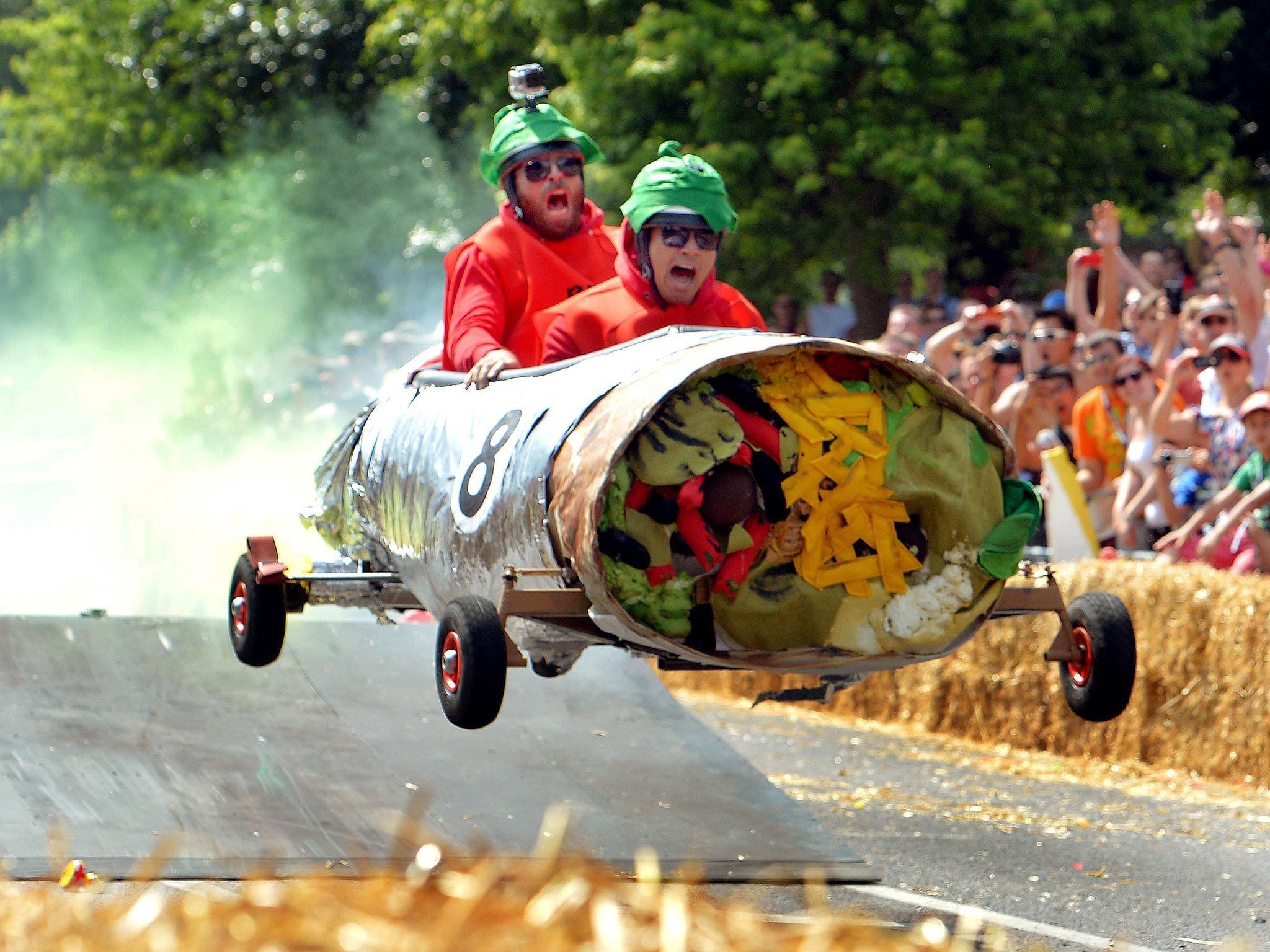 Red Bull Soap Box Derby >> đua Xe Tự Chế Ba đạo Của Red Bull Soapbox Race So Funny