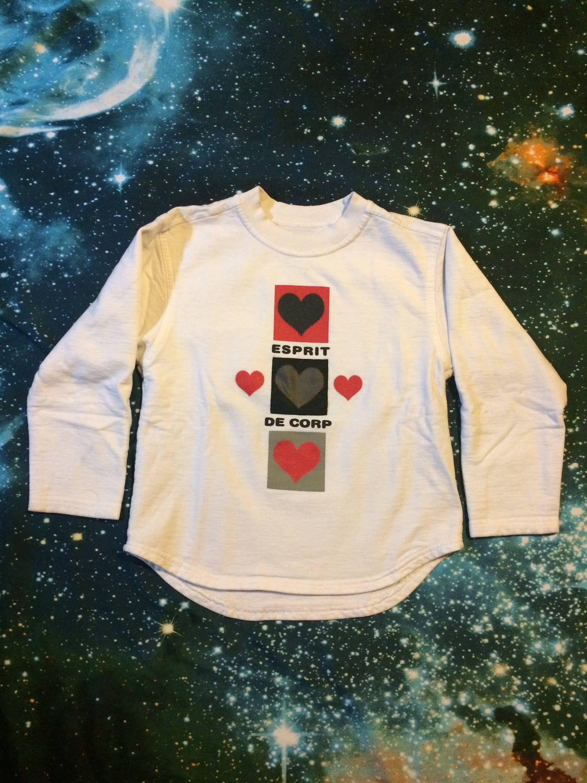 Vintage ESPRIT De Corp Brand Long Sleeve Crop Top Sweatshirt  92119e066