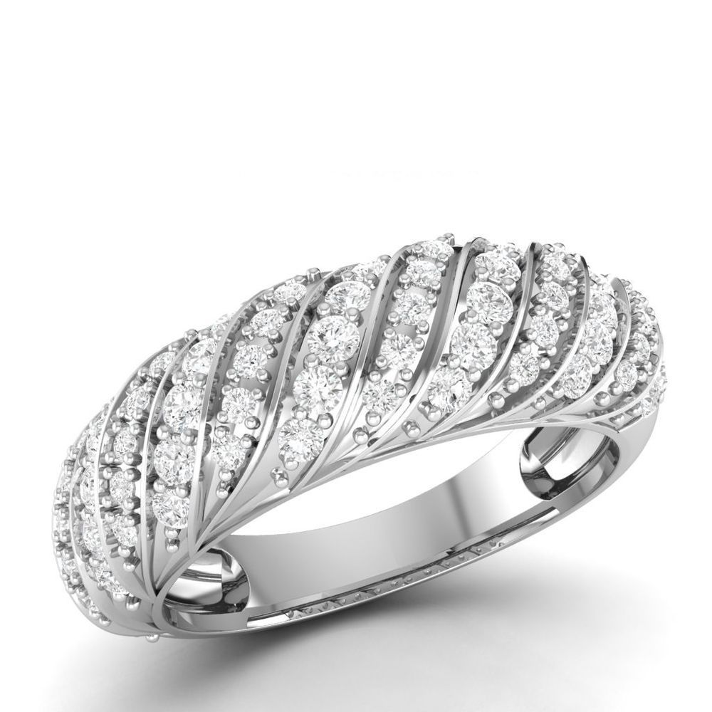 059 ct round natural i1 hi diamond with 10k white gold