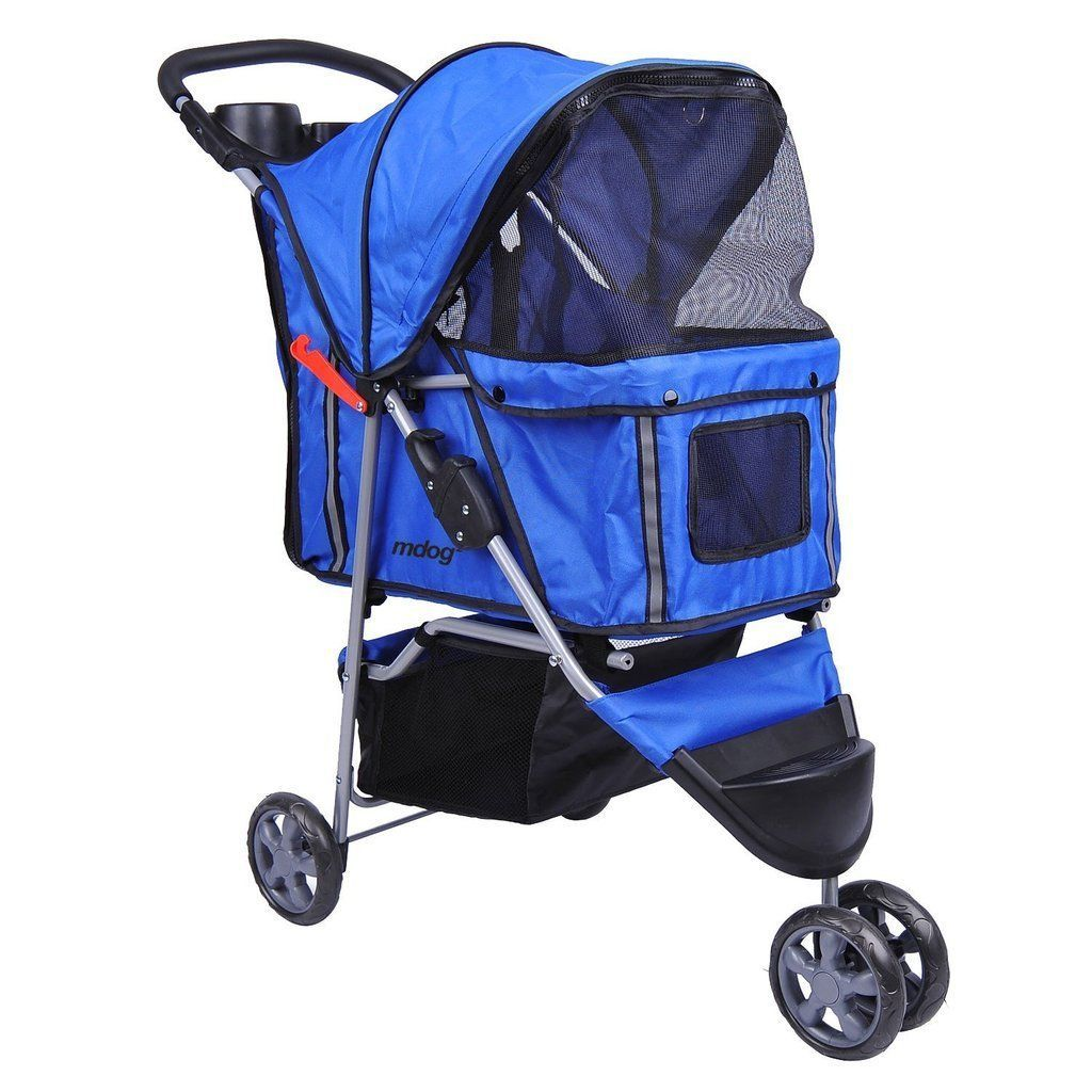 MDOG2 3Wheel Front & Rear Entry MK0015A Pet Stroller