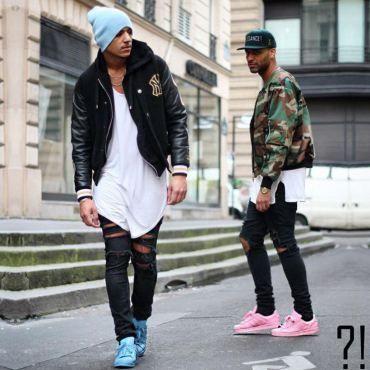 1a985cd6cf4 Outfit con zapatillas Adidas de colores en hombre... estilo trendy.  moda   hombre  zapatillas  color
