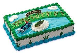 Field And Stream Bass Fishing Cake The I Ordered From Walmart