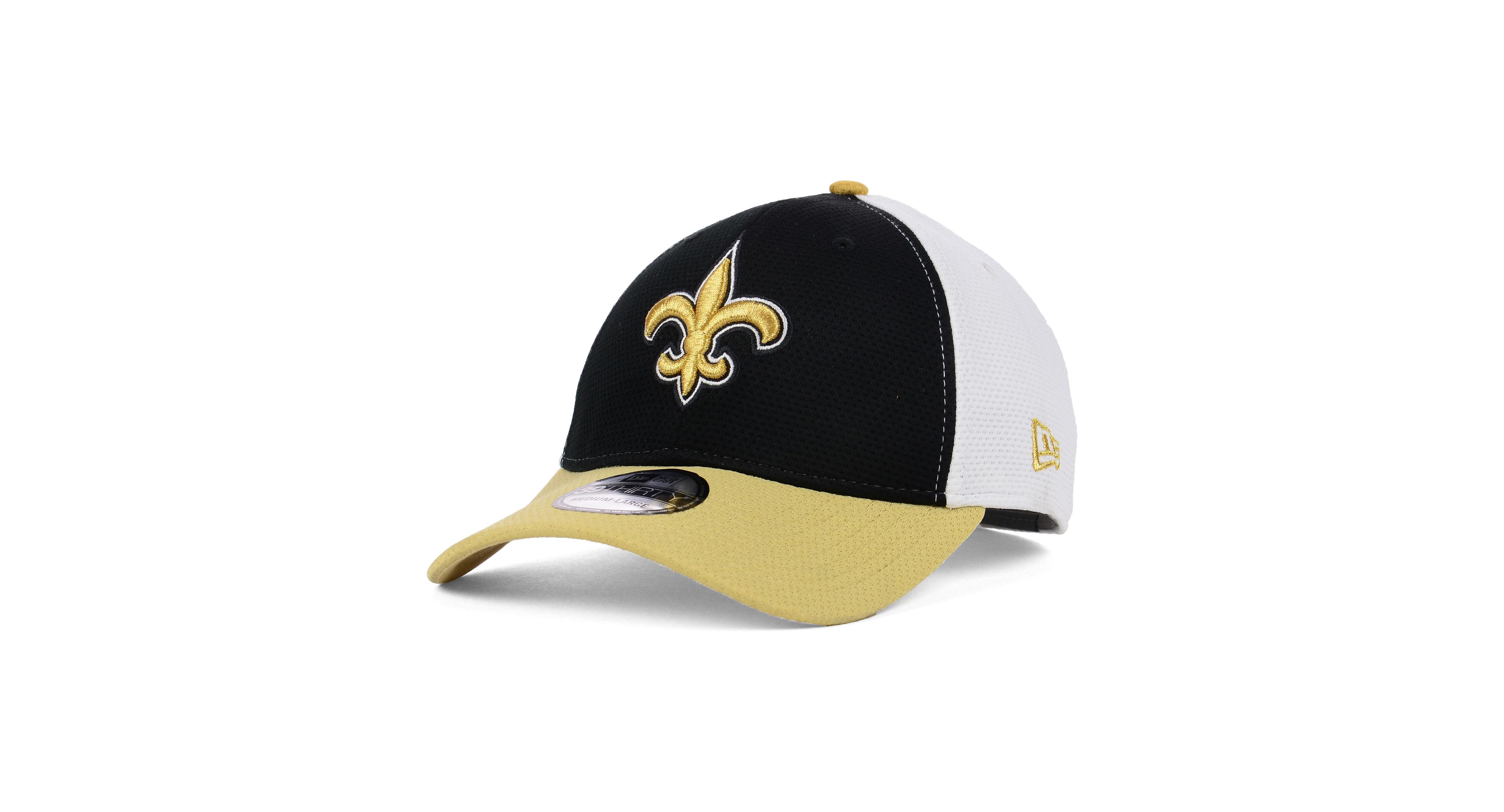 New Era New Orleans Saints Logo Stretch 39THIRTY Cap