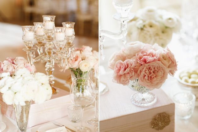 Timeless Ivory Gold Wedding With Scottish Traditions In: A Timeless Blush-and-Gold Wedding In California