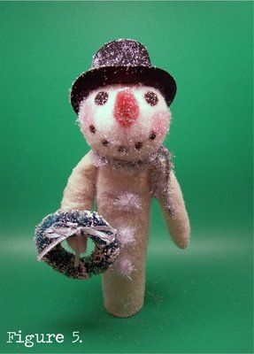 Skinny Snowman Craft Tutorial From Lisa Bunting Thoms Of Q D Patooties Felt Snowman Christmas Ornament Crafts Christmas Crafts To Make