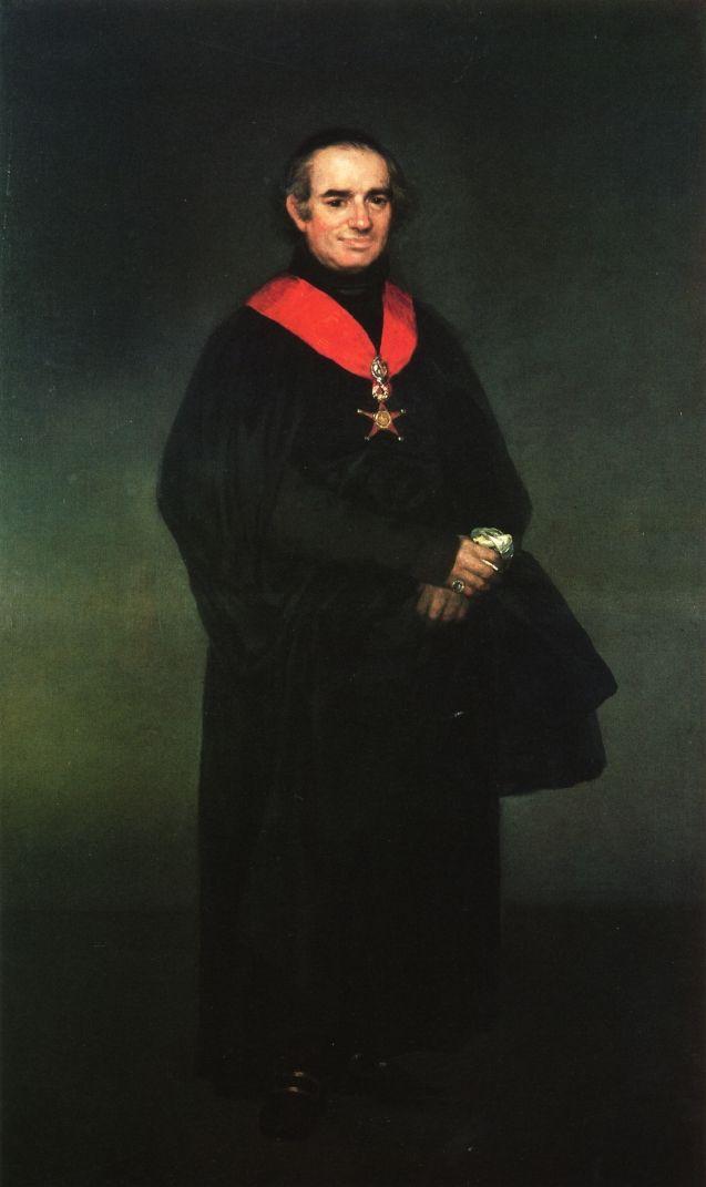Francisco de Goya - Juan Antonio Llorente