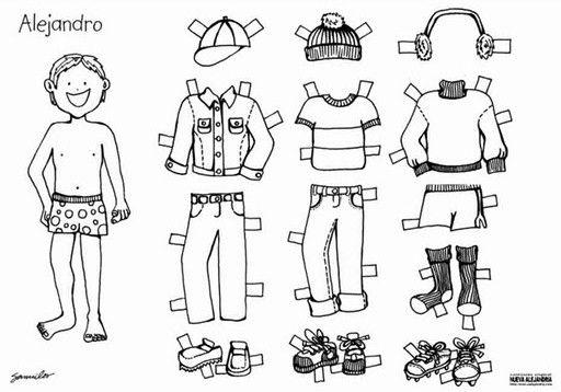 Materiales gráficos Gaby: Para los varones de la casa figuras ...