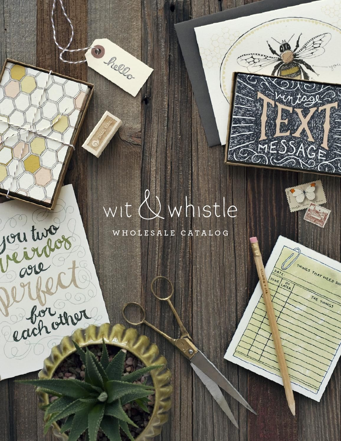 Wit whistle wholesale catalog catalog design this is the 2015 wit whistle wholesale catalog filled with greeting cards kristyandbryce Gallery