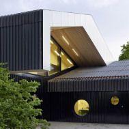 Barbara Frei, Centro Comunitario, Zurich, Suiza. Con Martin Saarinen, 2014.