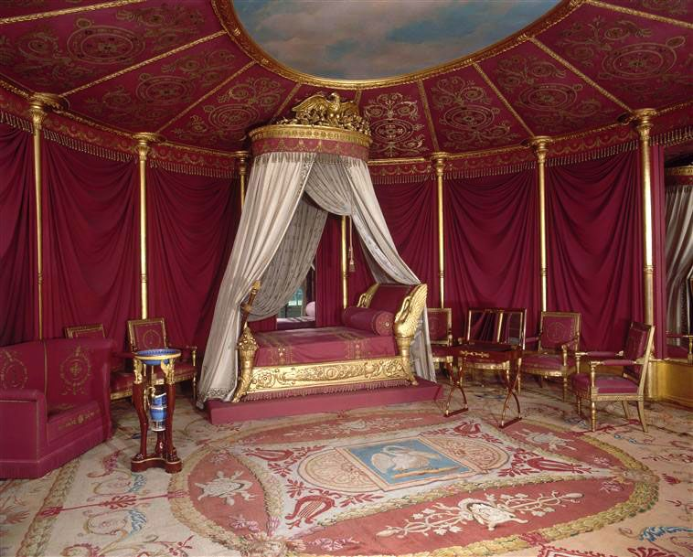 chambre coucher d 39 apparat de l 39 imp ratrice jos phine la malmaison demeures historiques du. Black Bedroom Furniture Sets. Home Design Ideas