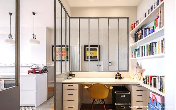 comment poser une verri re d int rieur en kit soi m me guide de la verri re int rieure. Black Bedroom Furniture Sets. Home Design Ideas
