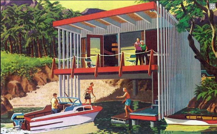 From Second Homes For Leisure Living 1960 Published By The Douglas Fir