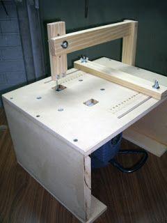 Mesa para caladora de mano | CALADORA | Jigsaw table