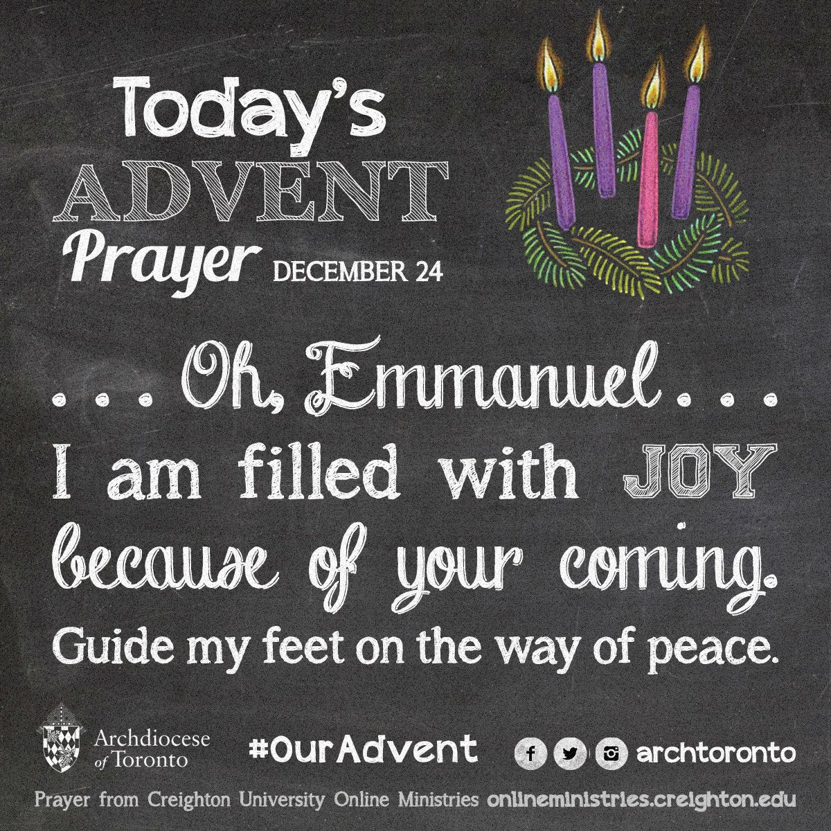 prayer for the fourth week of advent monday ouradvent. Black Bedroom Furniture Sets. Home Design Ideas
