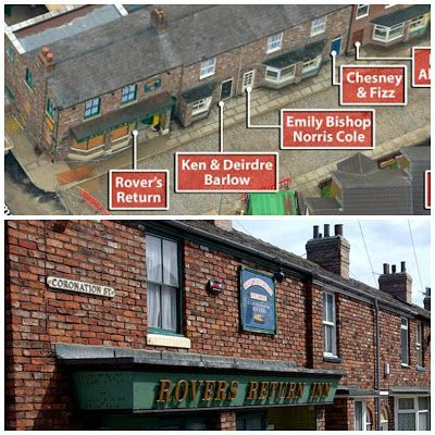 The changing face of the Rovers Return, Coronation Street - can you spot the difference?