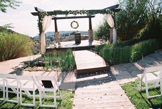 Southern California's best kept secret - outdoor wedding ...