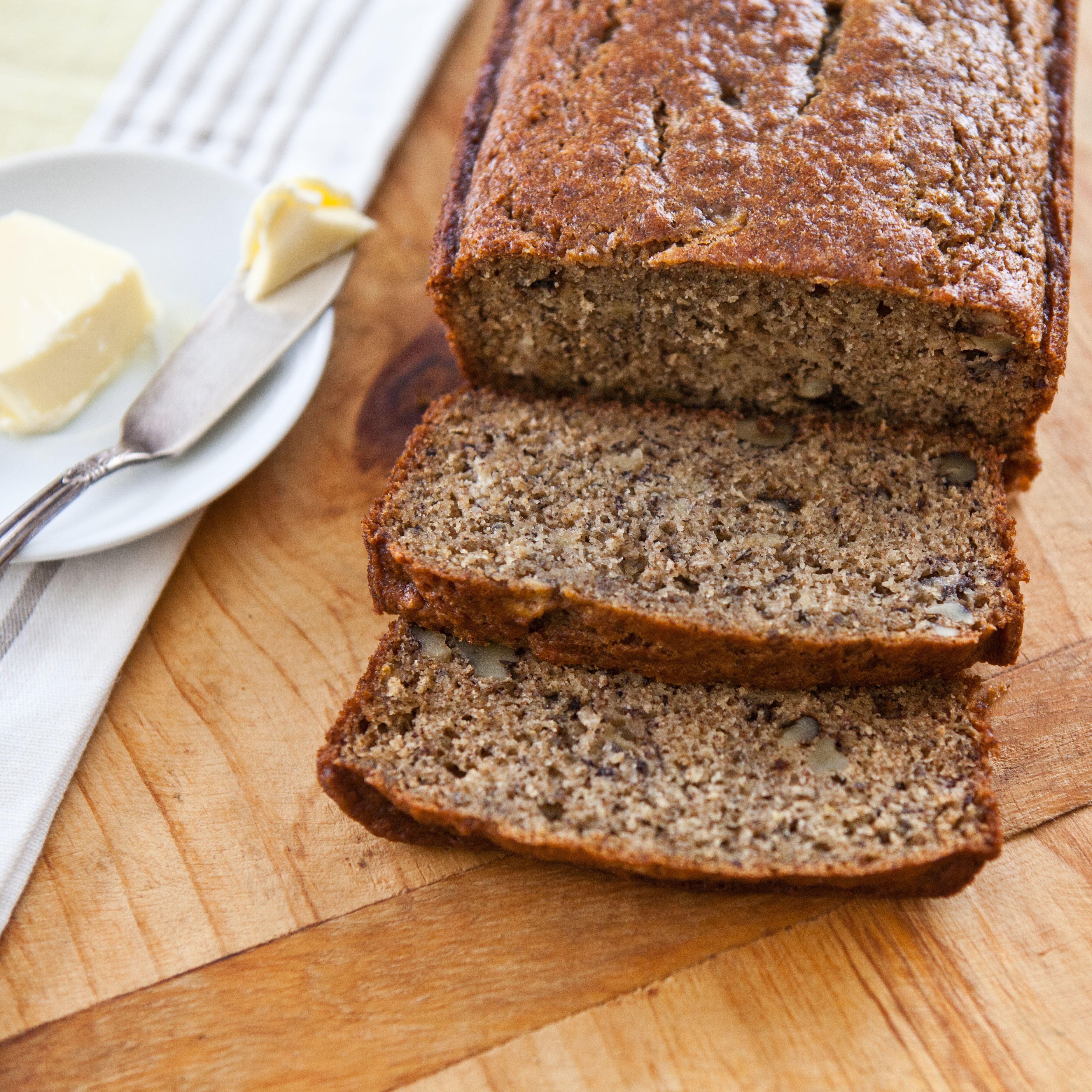 Whole wheat banana bread recipe banana bread bananas and sweet whole wheat banana bread forumfinder Choice Image