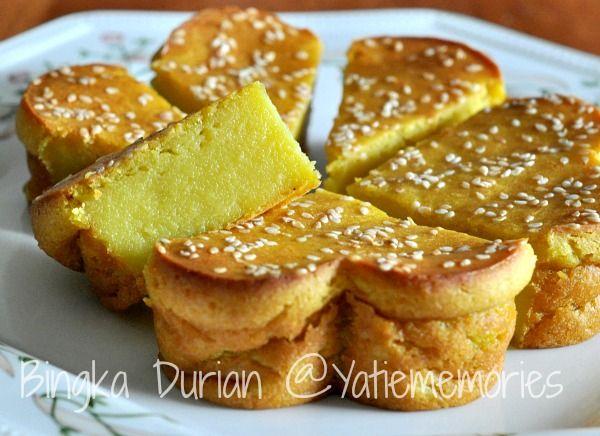 Sinar Kehidupanku Bingka Durian Resep Masakan Pedas Makanan Enak Resep Makanan Penutup