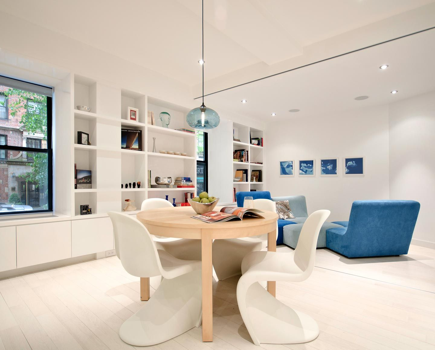 Aurora Pendant Hanging In University Place Apartment By Studiolab