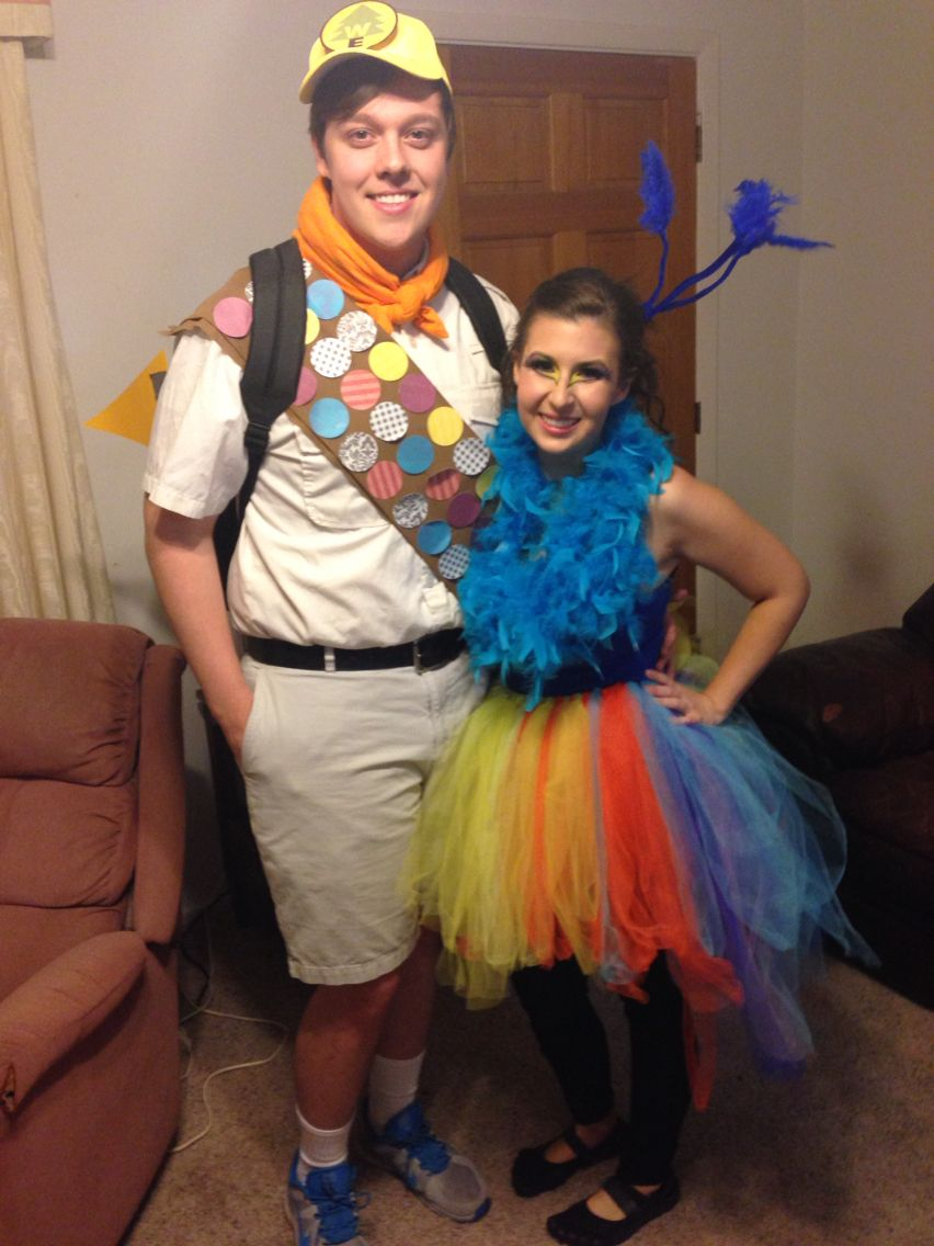 Kevin and Russell from Up halloween costumes! Used the ...