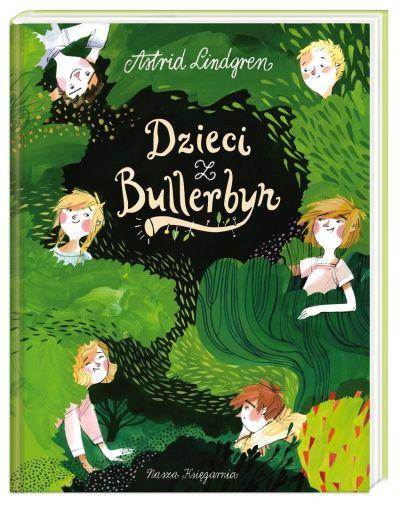 Dzieci Z Bullerbyn Children Illustration Little Girl Gifts Book Cover Design