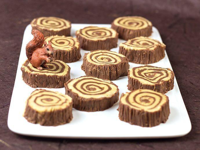 Lumberjacks Rejoice! A Recipe for Fudge Tree Rings | Handmade Charlotte