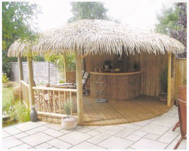 Exceptionnel Backyard Tiki Hut