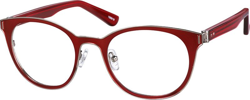 Red Round Glasses 199918 Zenni Optical Eyeglasses With Images