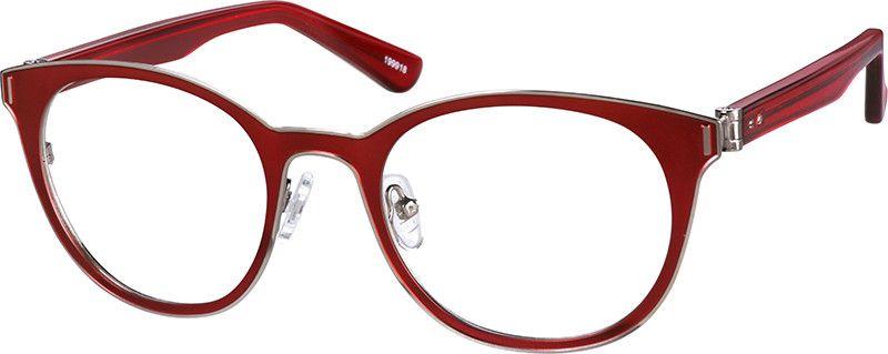 Zenni Optical Frame 124121 6 95 With 80 Gray Tint Optical