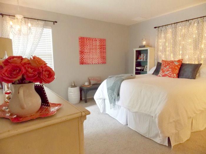 Master Bedroom Makeover on a Budget Recamara, Dormitorio y