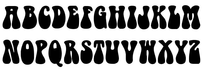 1960s Hippie Font | art | Hippie font, 60s font, Groovy font