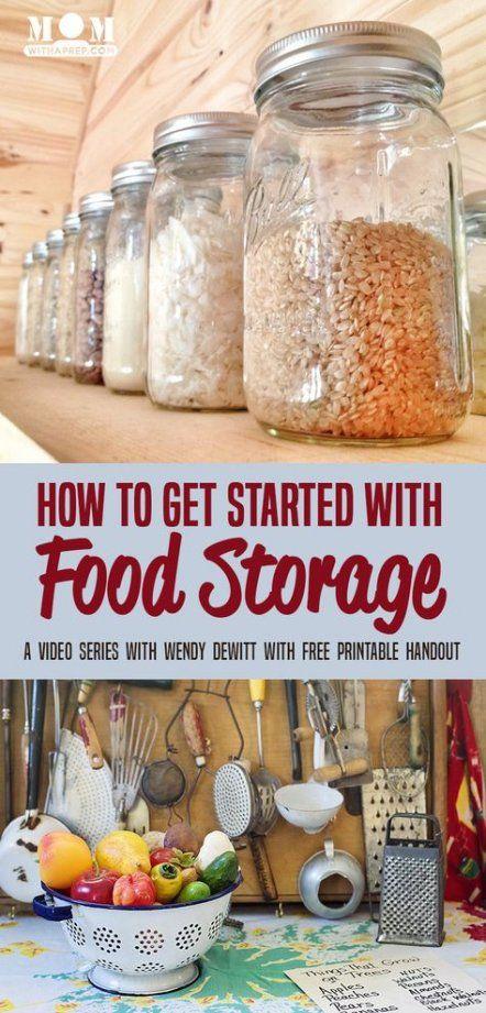 New Camping Food Storage Pantries Ideas Food Storage Camping Food