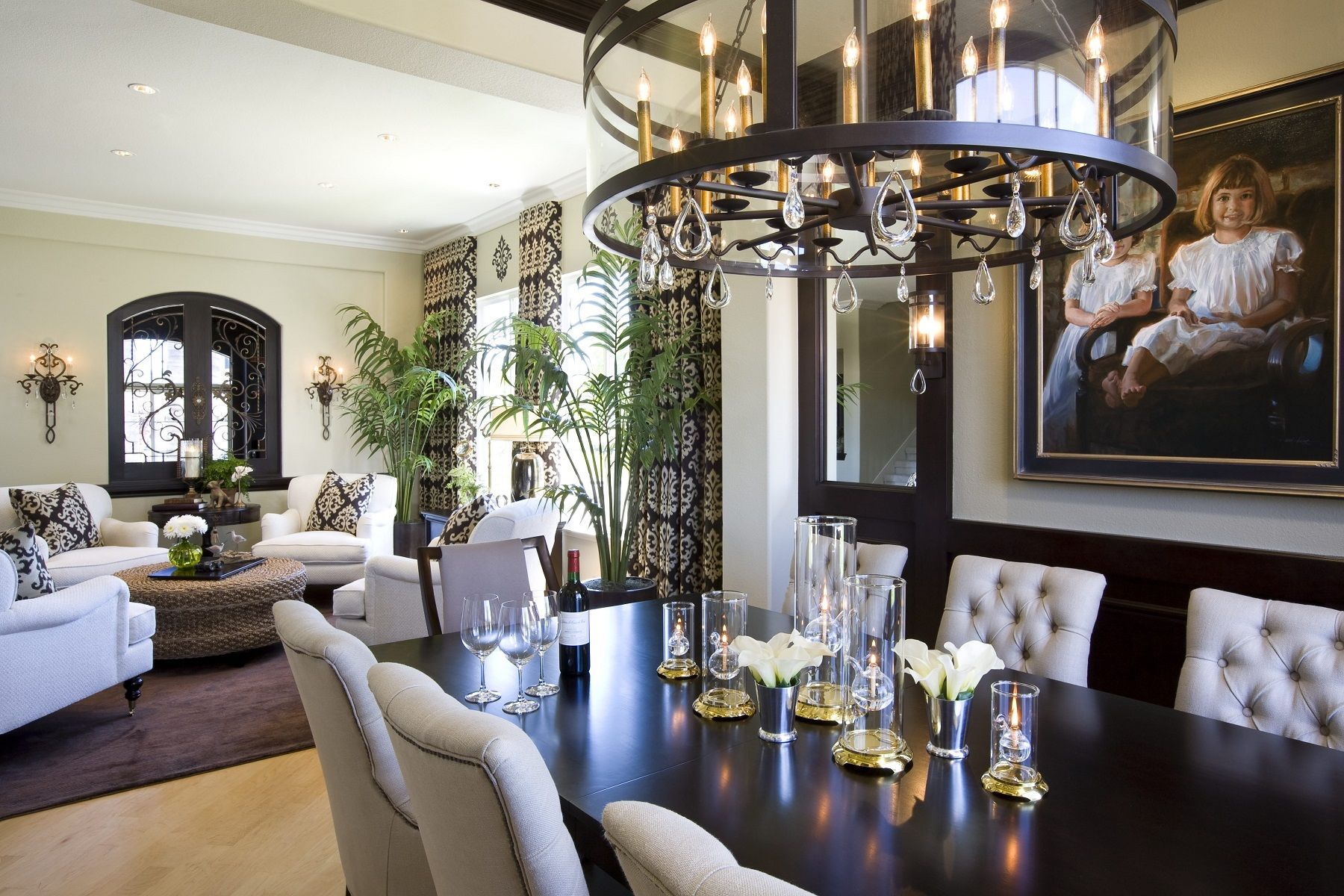 traditional home dining rooms. Modern traditional home dining room robeson design  Esszimmer