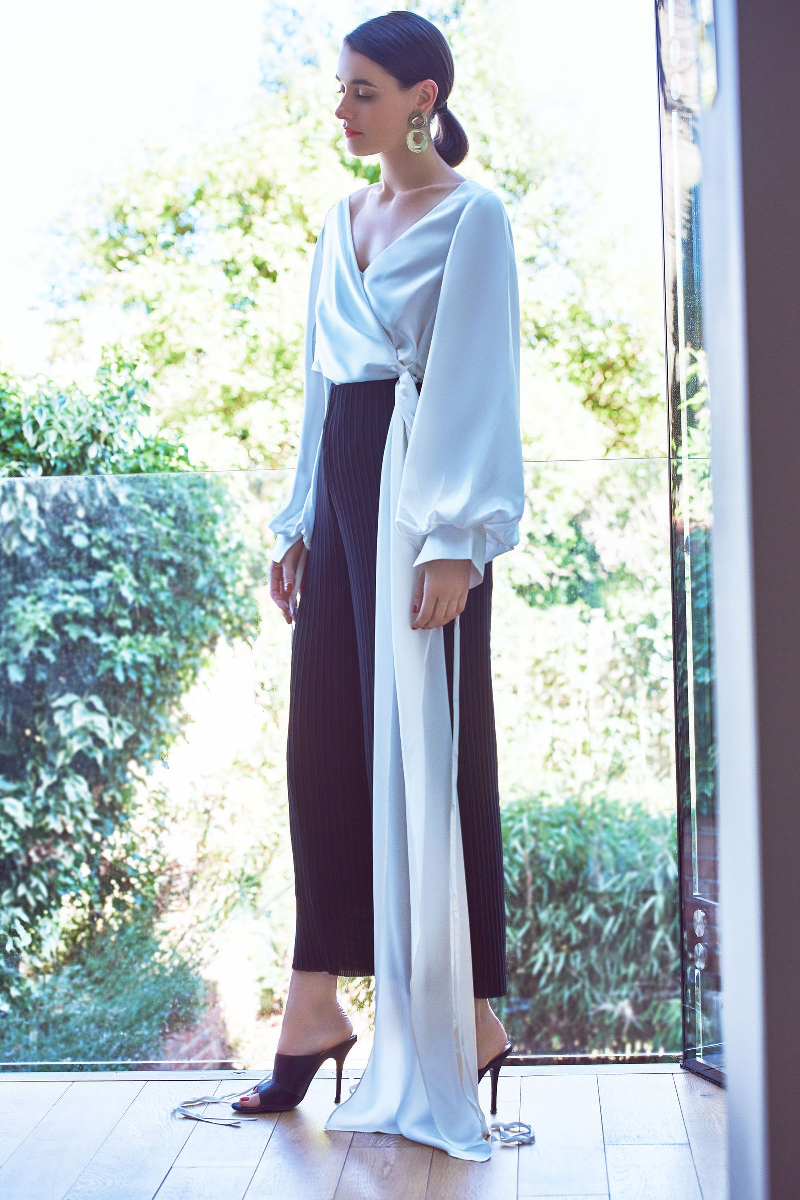 The Solace London Designer Wears The Pants, Four Chic Ways