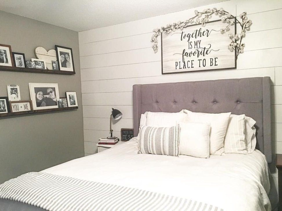 Gorgeous Farmhouse Bedroom Decorating Ideas 33 in 2018 Bedroom
