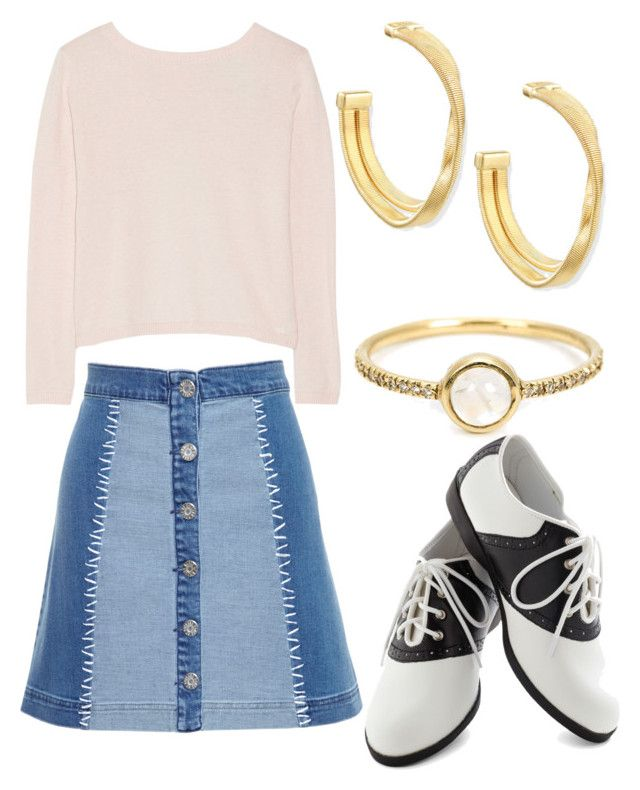 """""""#204"""" by kpopkdrama1 ❤ liked on Polyvore featuring Banjo & Matilda, House of Holland, Irene Neuwirth, Marco Bicego and Pinup Couture"""