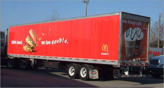 delivery truck branding | view original image )