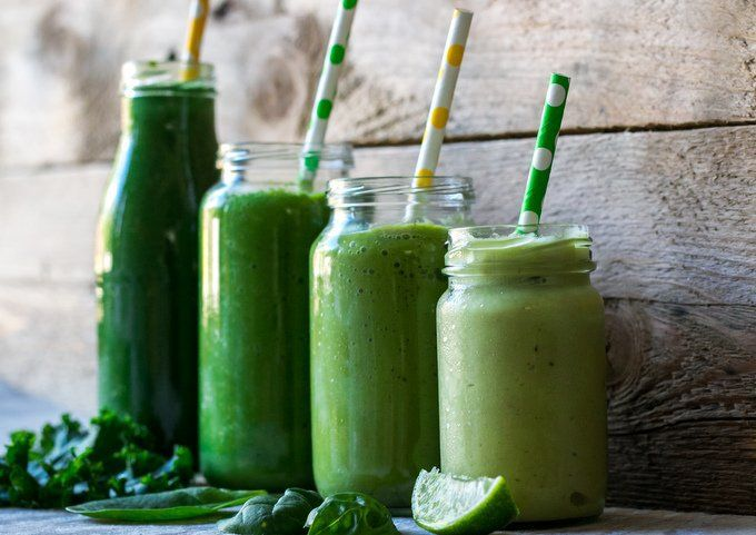 Healthy green smoothie guide