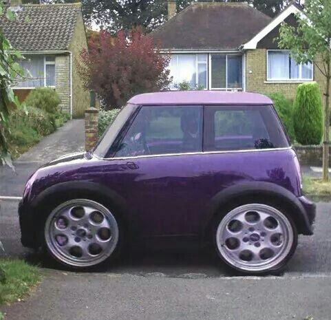 very compact purple car not an antique but cute i think this is from around 1973 when we had. Black Bedroom Furniture Sets. Home Design Ideas