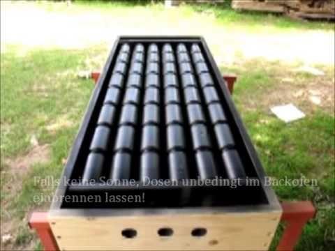Sommerküche Selber Bauen : Solar luftkollektor anlage und dörrhaus für kräuter gemüse selber