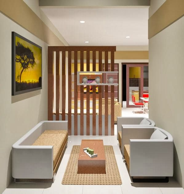 ruang tamu mungil | Gembira House | Pinterest