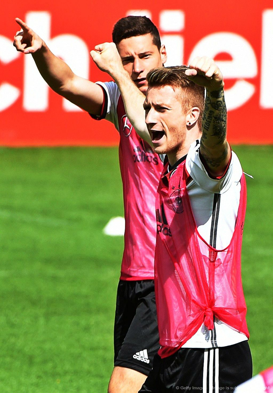 Draxler Reus Fotboll
