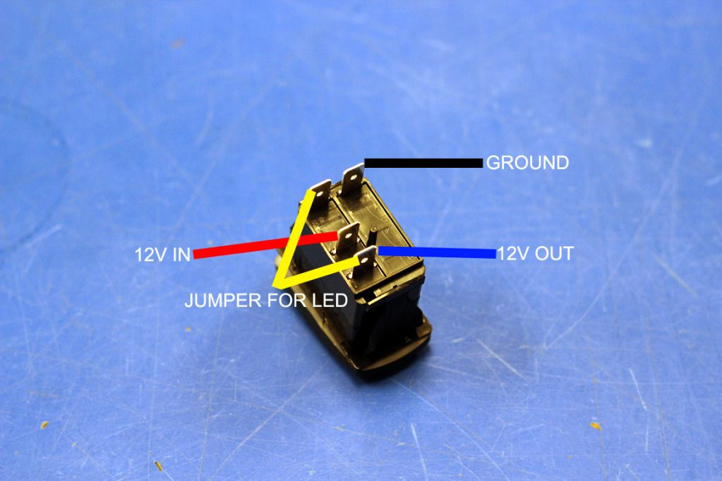 Toggle Switch Wiring Diagram Together With 4 Pin Relay Wiring Diagram