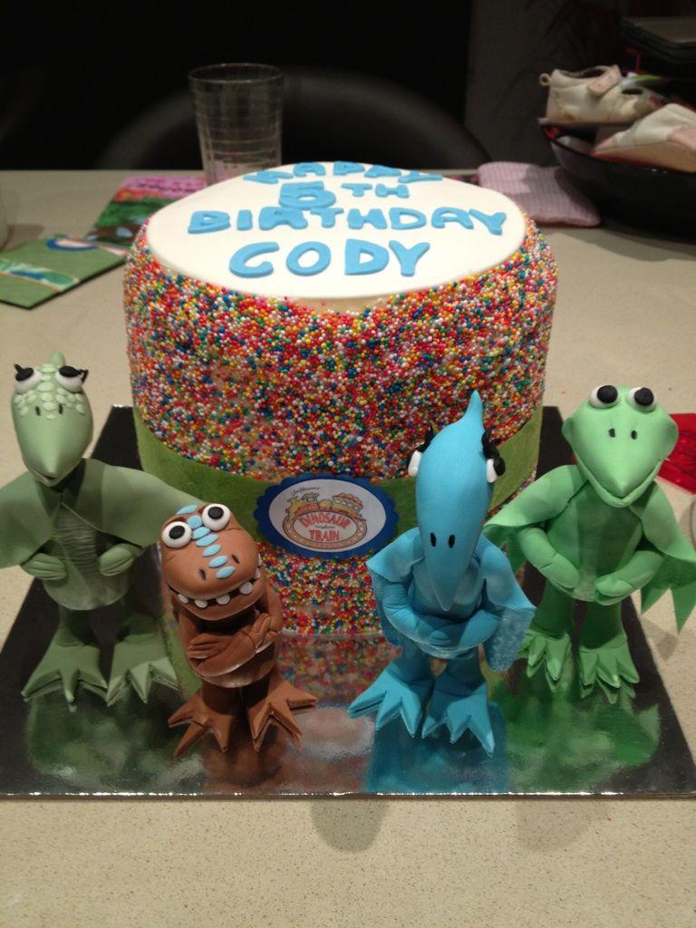 Dinosaur train cake i provided the cake topper the